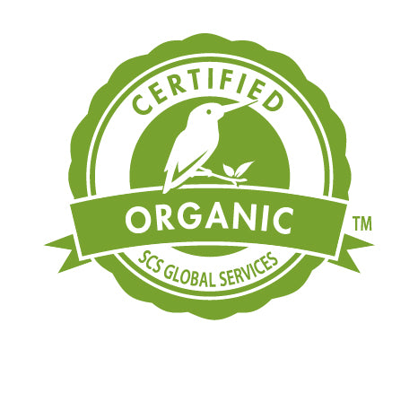 Certified Organic by SCS Global Services Icon