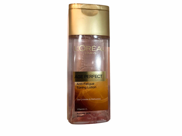 LOREAL 200mL Age perfect toning lotion-lotionuniqqy