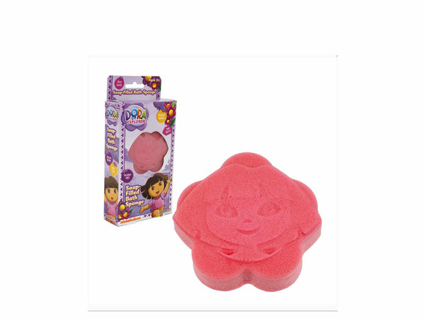 Soap Filled Dora Bath Sponge-bath spongeuniqqy