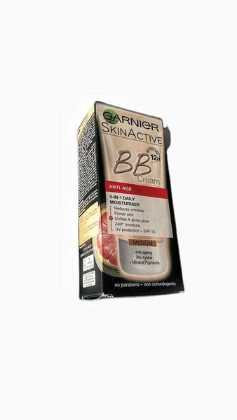 3 pack Garnier Skin Active Anti-age Bb Cream - Medium