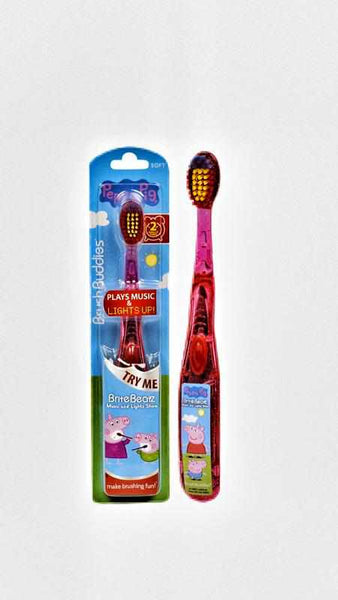 Peppa Pig with Light & Sound Toothbrush-toothbrushuniqqy