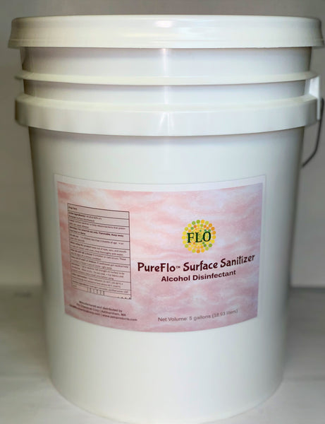 PureFlo Surface Disinfectant 5-gallon pail w/spout