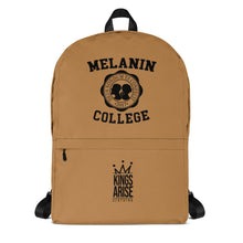 Load image into Gallery viewer, Melanin College Backpack (BHM Limited Edition)