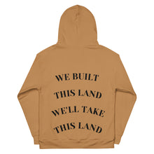 Load image into Gallery viewer, We Built This Land Unisex Hoodie (BHM Limited Edition)