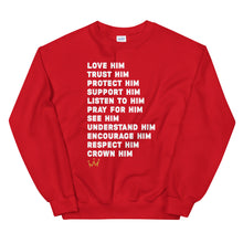 Load image into Gallery viewer, Crown Him Unisex Sweatshirt
