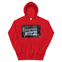 Load image into Gallery viewer, Amerikkka Was Never Great Unisex Hoodie