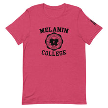 Load image into Gallery viewer, Melanin College Short-Sleeve Unisex T-Shirt