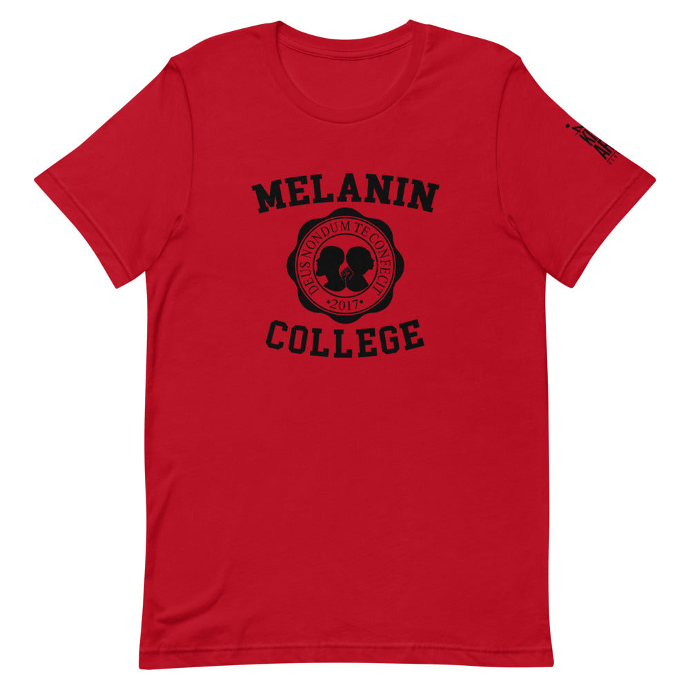 Melanin College Short-Sleeve Unisex T-Shirt