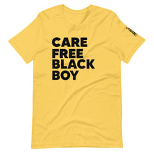 Load image into Gallery viewer, Care Free Black Boy Short-Sleeve Unisex T-Shirt