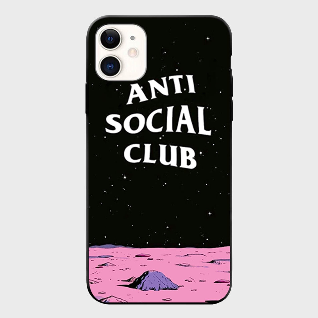 Anti Social Moon iPhone Case - Cloud Accessories, LLC