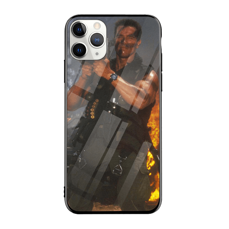 Arnold Schwarzenegger iPhone Case