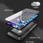 Blue/Purple Shark iPhone Case - Cloud Accessories, LLC