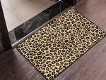 Cheetah Print Floor Mat