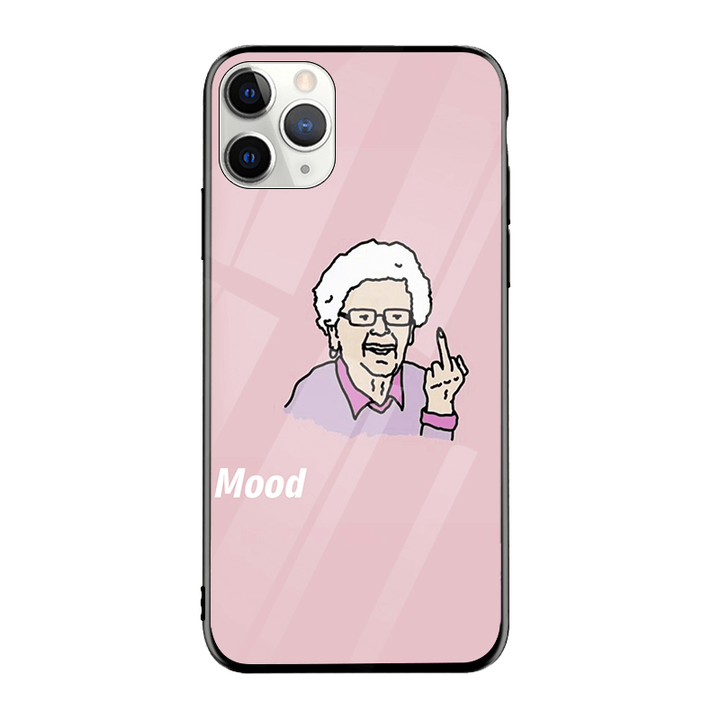 Grandma Mood iPhone Case