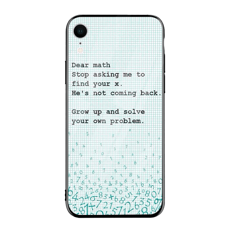 Funny Math Joke iPhone Case