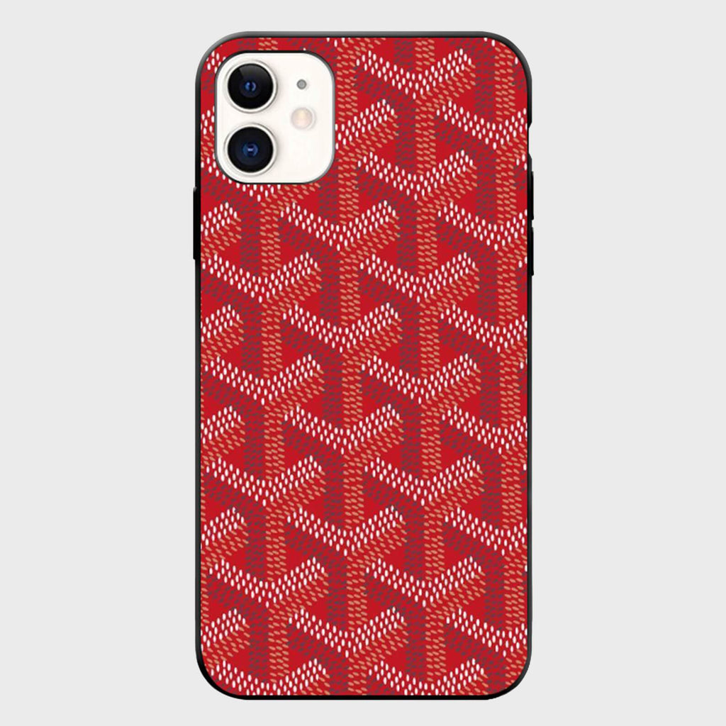 Red Wicker iPhone Case - Cloud Accessories, LLC