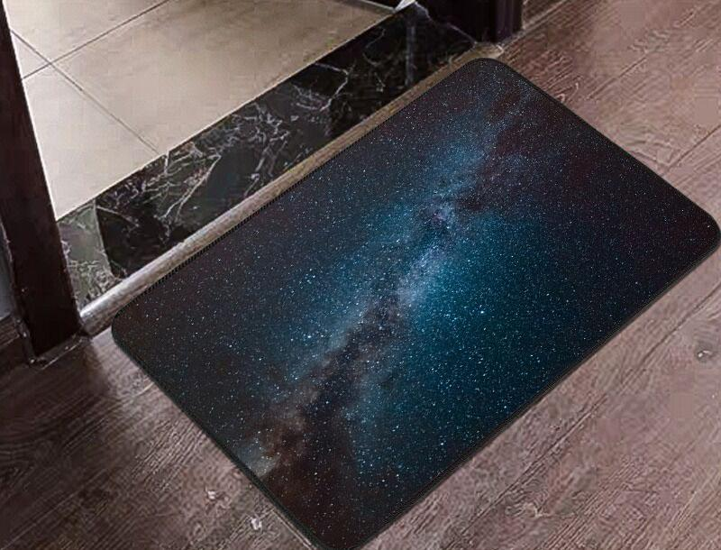 Trippy Space Floor Mat