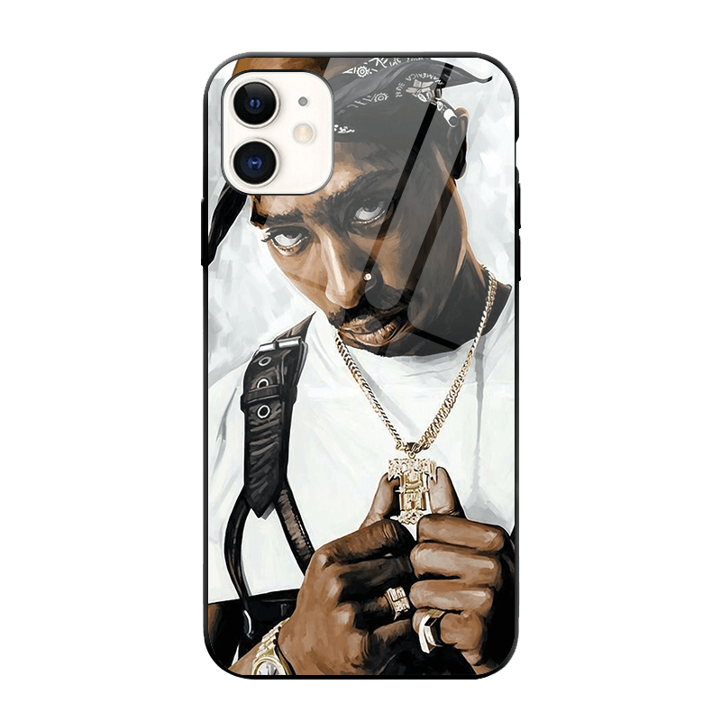 Tupac iPhone Case