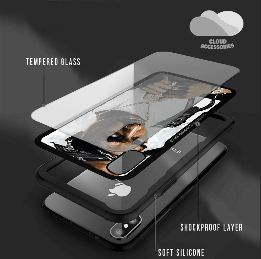 Tupac iPhone Case - Cloud Accessories, LLC