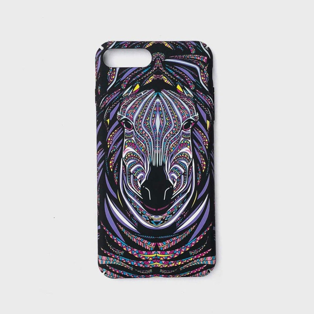 Zebra Phone Case (Glows in the Dark) - Cloud Accessories, LLC