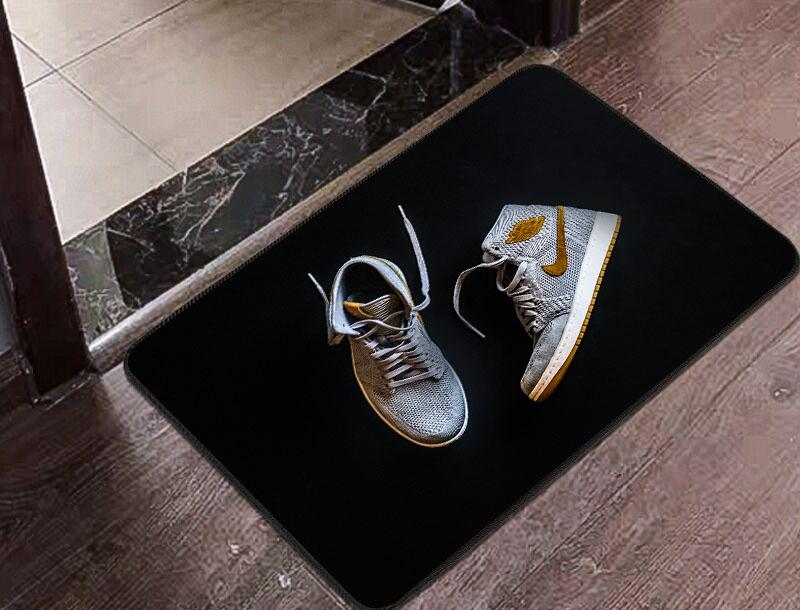 Fire Kicks Floor Mat