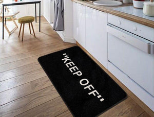 """KEEP OFF"" Floor Mat"