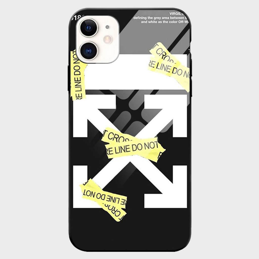 """Do Not Cross"" iPhone Case - Cloud Accessories, LLC"