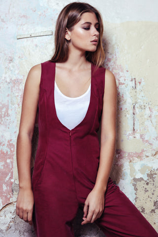 Jumpsuit Roots Bourdeaux