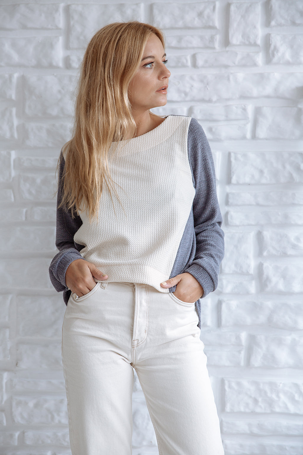 Vibe sweater Grey