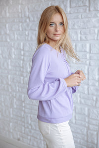 Will Sweater Lilac