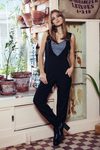 Jumpsuit Roots black
