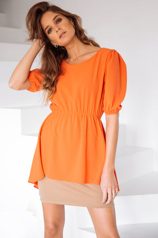 Double Dress Orange