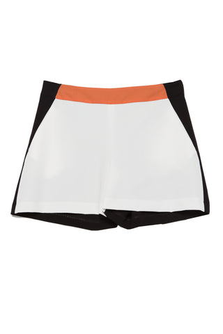 Shorts Tri-color black