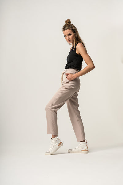 BOW Trousers Beige