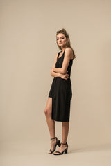 Slit Dress Black