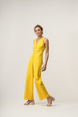 BOW Jumpsuit Yellow