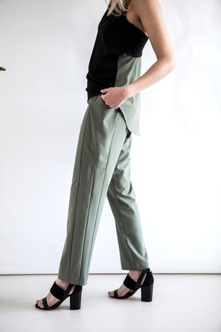 Flow  Trousers Green