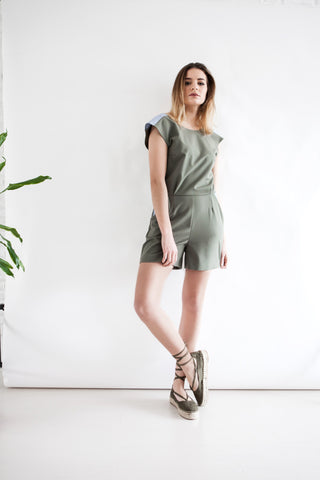 O2 Jumpsuit Green