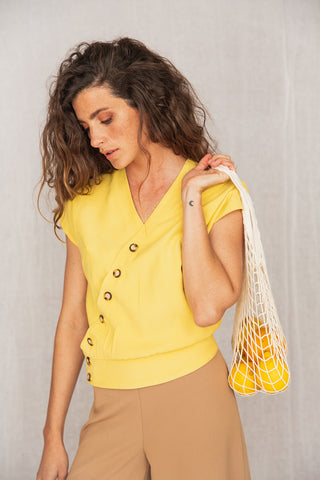 Savana Shirt Yellow