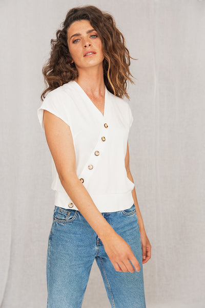 Savana Shirt White