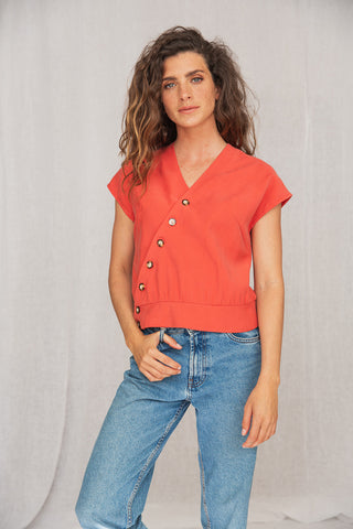 Savana Shirt Coral