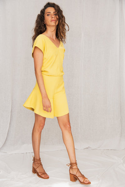 Land Jumpsuit Yellow