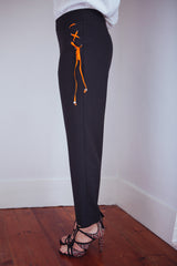 Trousers Tie black