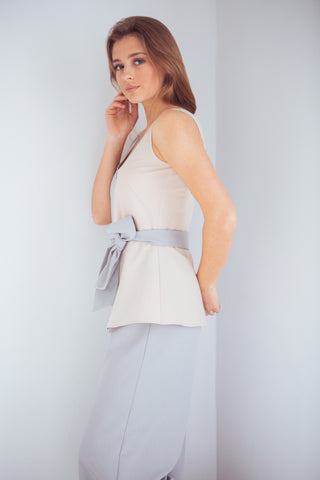Jumpsuit Half grey