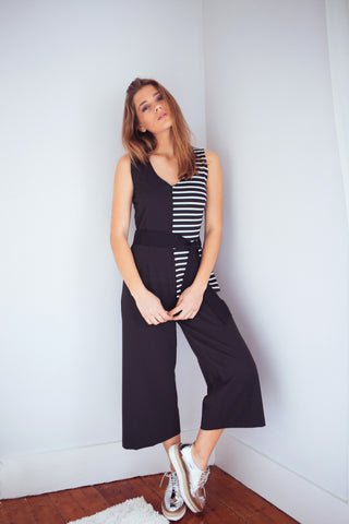 Jumpsuit Half black