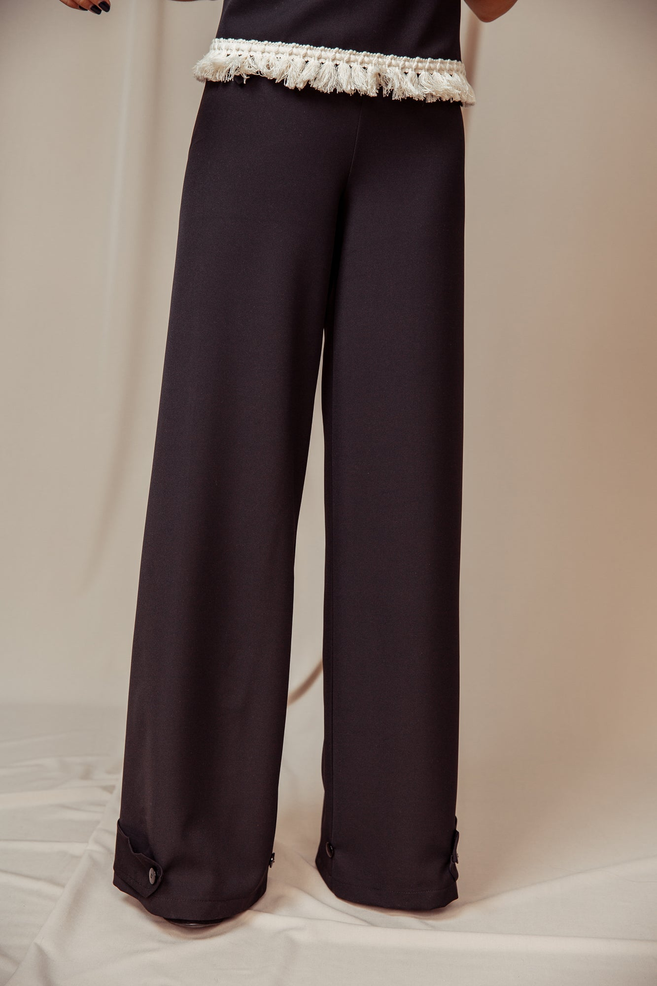 Fluid Trousers black