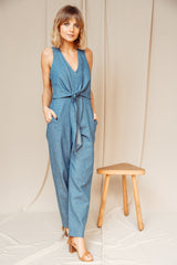 Long Jumpsuit denim