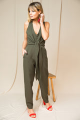 Long Jumpsuit green