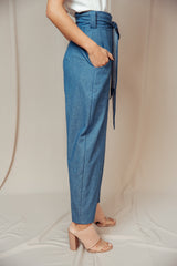 Round Trousers denim