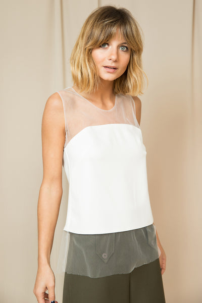 Top Hole white